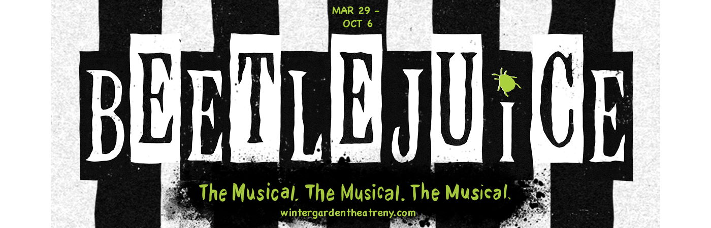 beetlejuice musical winter garden theatre