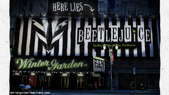 beetlejuice musical on stage